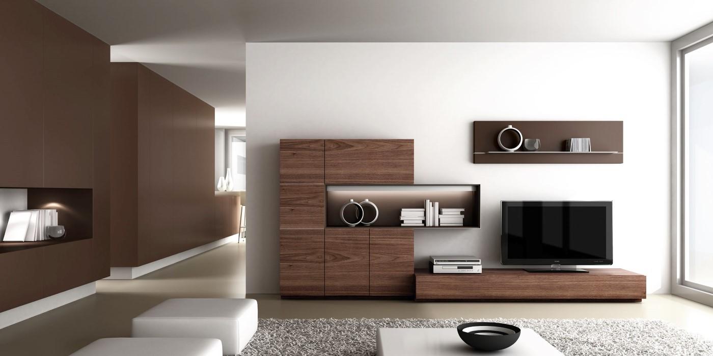 Salones modernos de calidad online en valencia - Muebles de nogal ...