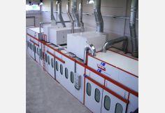 Cabina de pintura presurizada