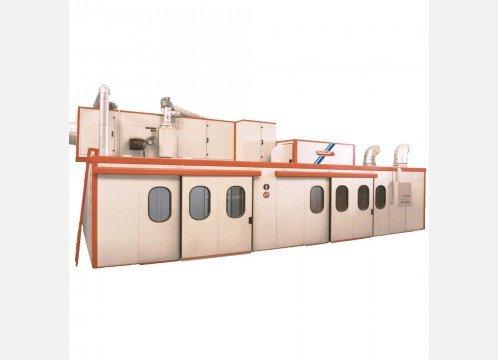 Cabina de Pintura Presurizada por cortinas de agua