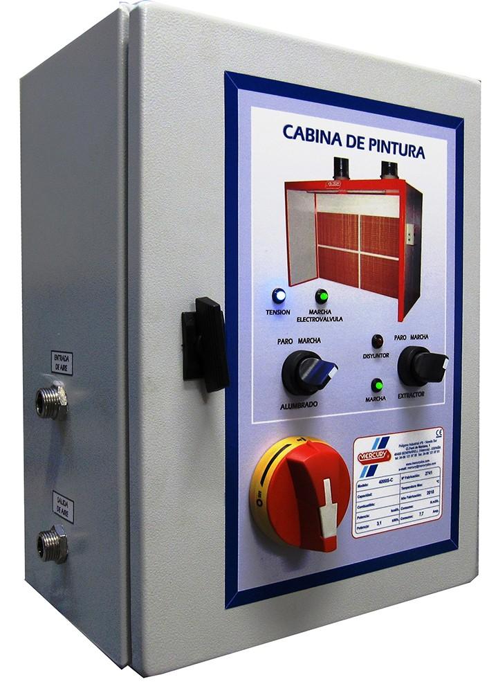 Cuadro el ctrico cabinas de pintura for Caja cuadro electrico