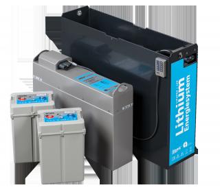 Baterías de litio para carretillas eléctricas