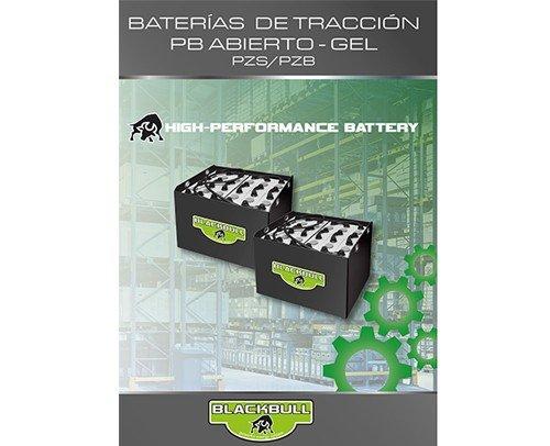 Folleto baterías de tracción Blackbull