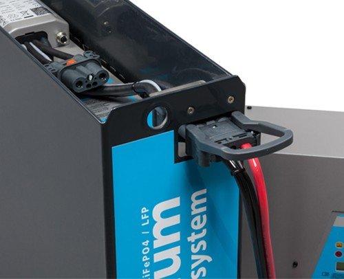 Conexión de la batería de litio