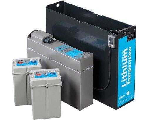 Baterías de tracción y monoblocs de litio