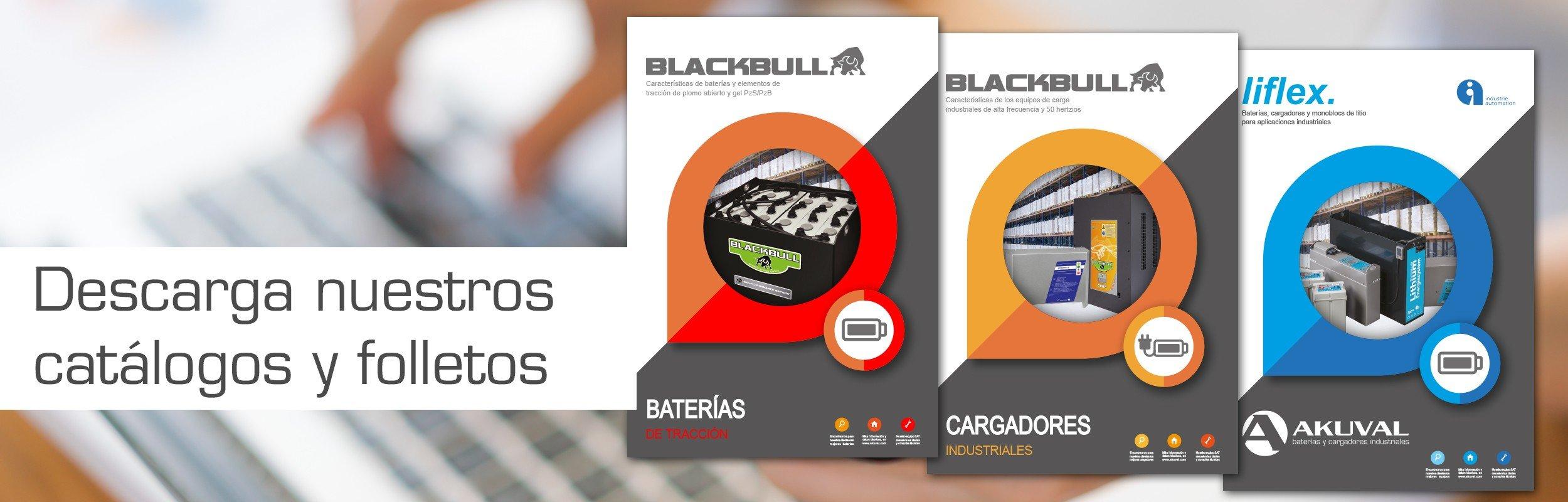 Catálogo Baterías de litio industriales