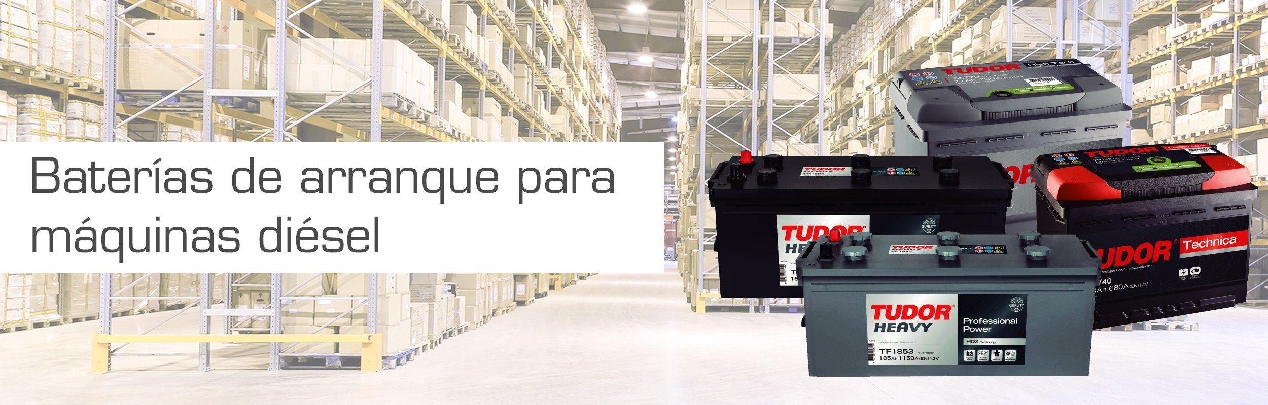 Baterías de arranque :: Baterías tracción, baterías carretillas, baterías transpaletas