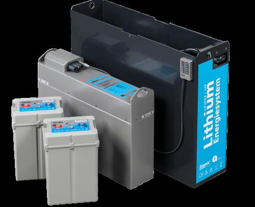 Baterías de litio para tracción