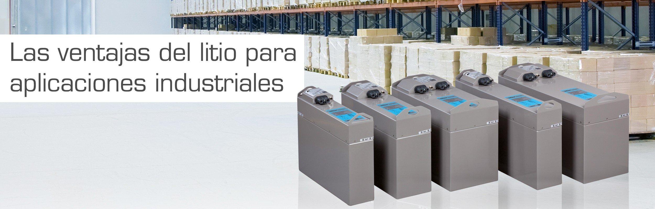 Baterías de litio industriales para carretillas