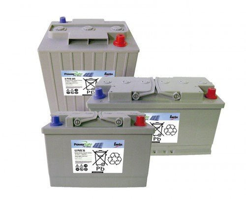 Baterías Gel PV Bloc PowerSafe EnerSys
