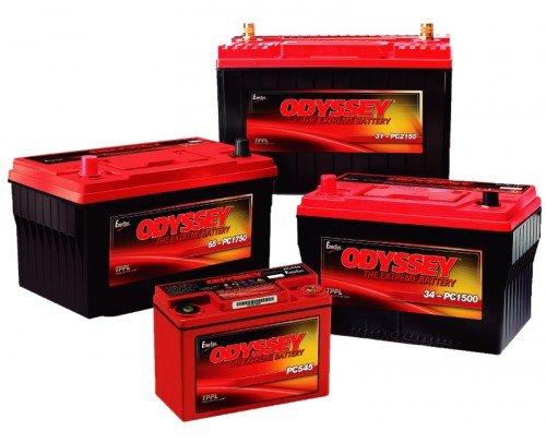 Baterías para grupos de emergencia ODYSSEY
