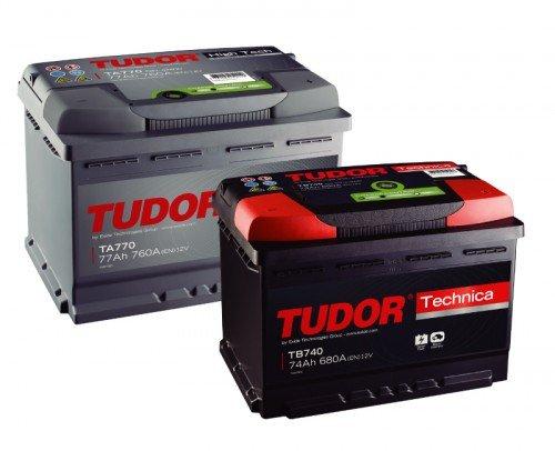 Baterías automoción Exide y Tudor