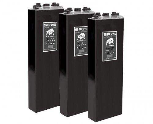 Baterías Pb ácido PzS Solar Blackbull