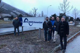 AKUVAL asiste en Suiza al curso de formación de STUDER
