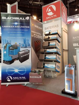 AKUVAL presenta sus novedades en las ferias Logistics y Matelec