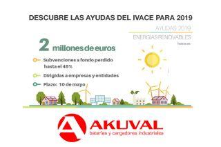 Ayudas de 2 millones de euros del IVACE para instalaciones fotovoltaicas