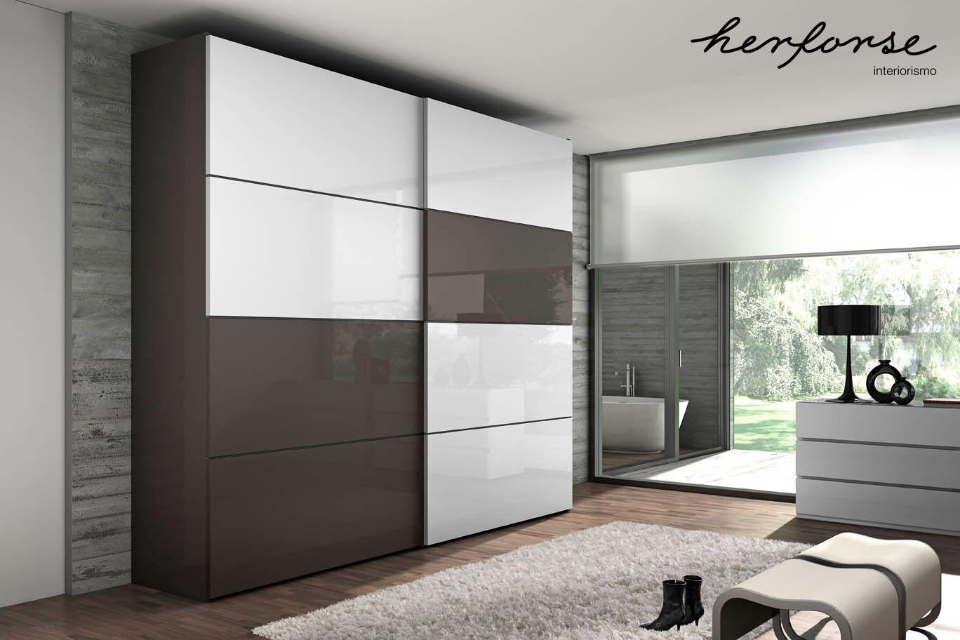 Puertas correderas armarios y vestidores for Armarios empotrados modernos