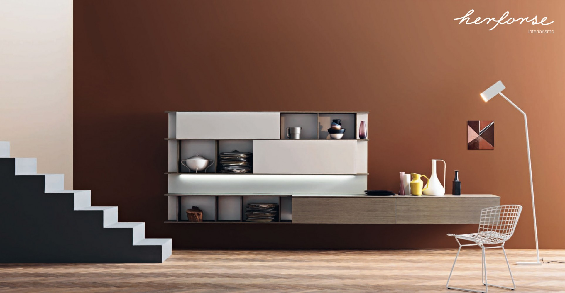 Modernos vanguardia salones herforseinteriorismo for Salones clasicos modernos