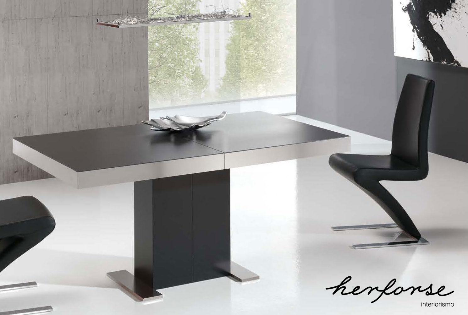 Sal n modernas general mesas herforseinteriorismo - Mesas salon modernas ...