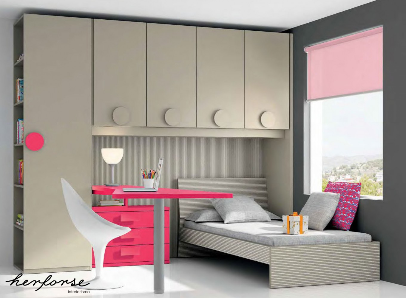 Cabezales y camas juveniles herforseinteriorismo - Cortinas habitaciones juveniles ...