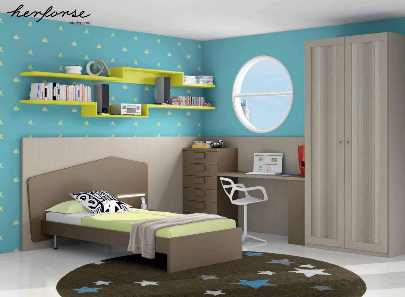Cabezales y camas juveniles herforseinteriorismo - Cuadros habitaciones juveniles ...