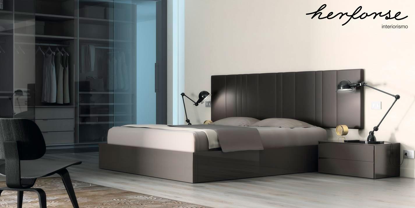 Cabezales tapizados dormitorios herforseinteriorismo - Cabezales de forja modernos ...