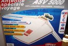 ANTENA EXTERIOR OPTEX ELECTRONIQUE  ASV 5000