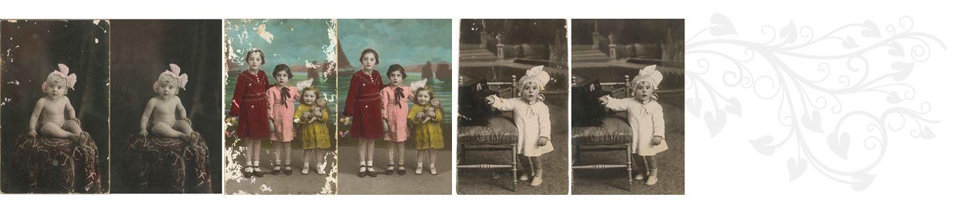 restauración fotográfica :: DINEDIT