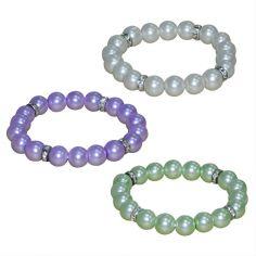 ¡Nuevas pulseras de perlas!