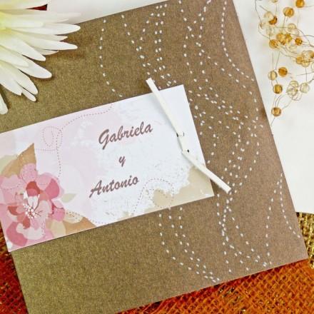 invitación boda 32715CN