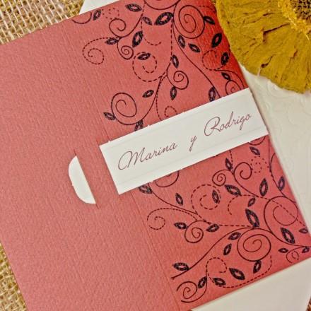 invitación boda 32750CN