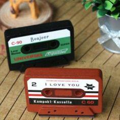 """sello cassette """"bonjour"""""""