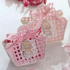 cajita bebe celeste/rosa