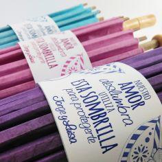 parasol bambú