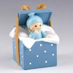 caja regalo azul