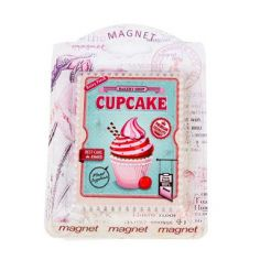 imán retro cupcake