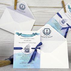 invitación marinera