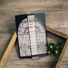 puerta del amor corte láser