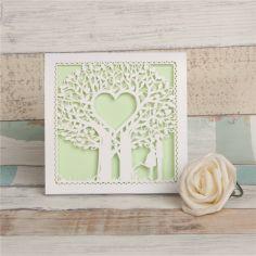 árbol del amor corte láser
