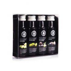 estuche 4 aceites oliva