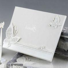libro firmas mariposa guests