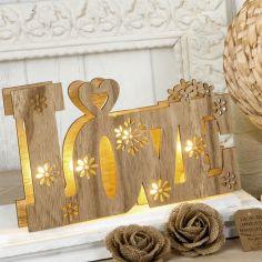 decoración love