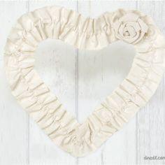 set 6 corazones decoración