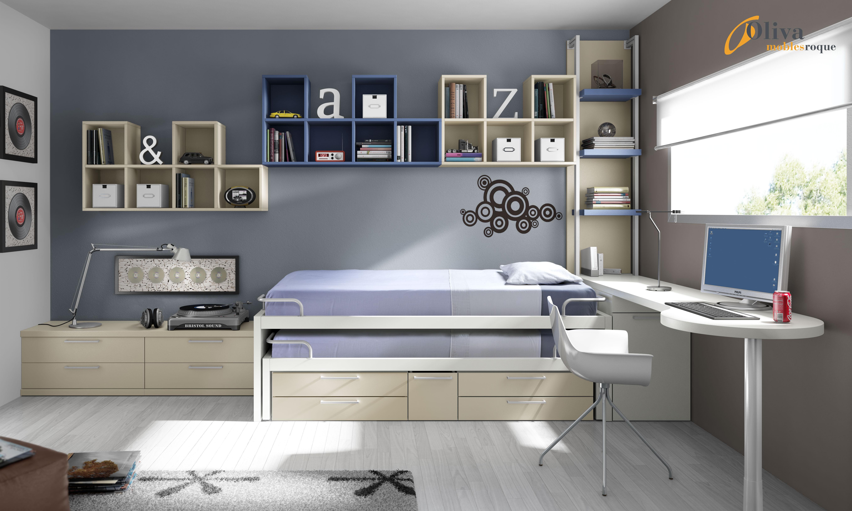 Imagenes mueble juvenil de lagrama life box muebles ros for Muebles juveniles baratos barcelona