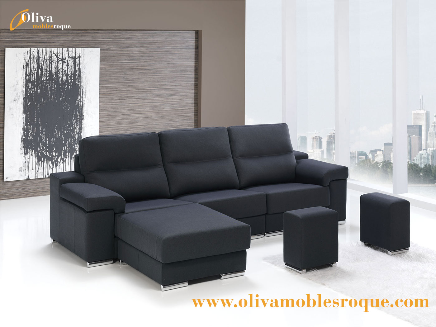Cat logo de tapiceria chaiselonge sofas 3 2 sillones - Tapizados navarro ...