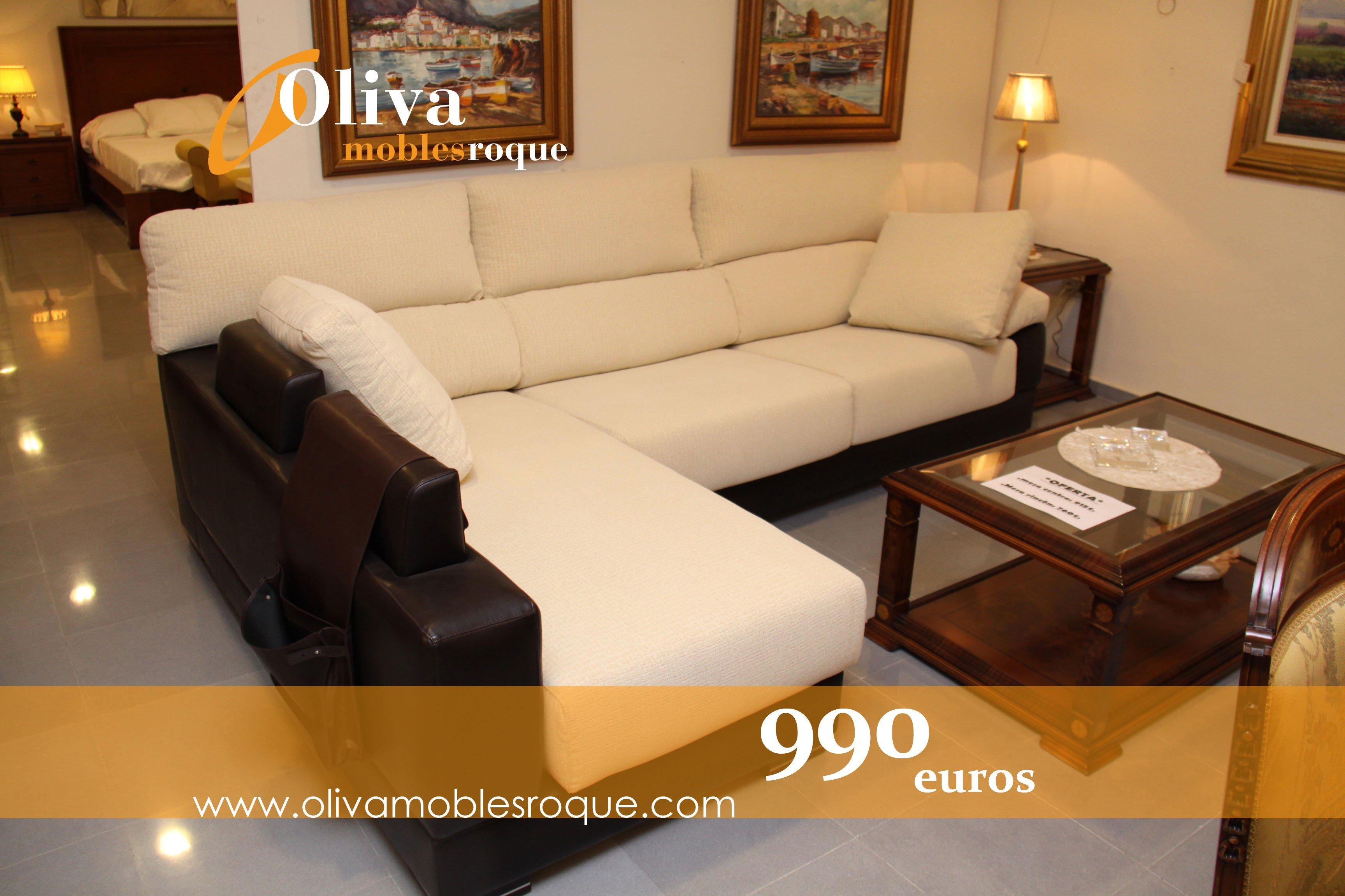Oferta sofa chaise longue de ta quatro dise o a precio outlet for Chaise longue barcelona outlet