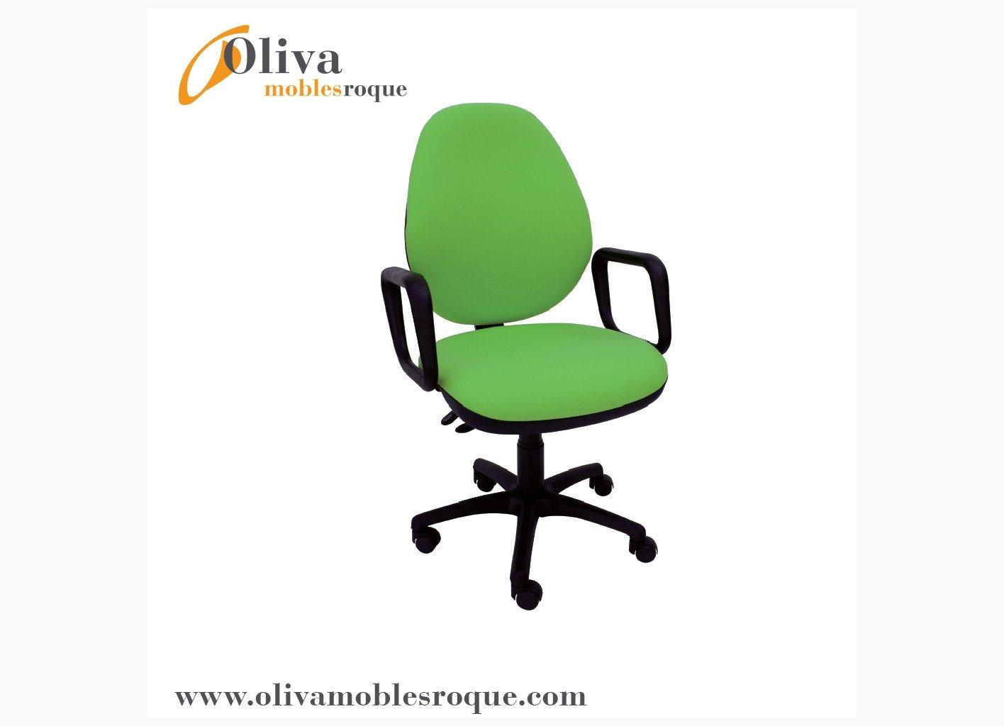 Silla oficina 235 con brazos sillas sillas oficina y for Sillas para habitacion juvenil