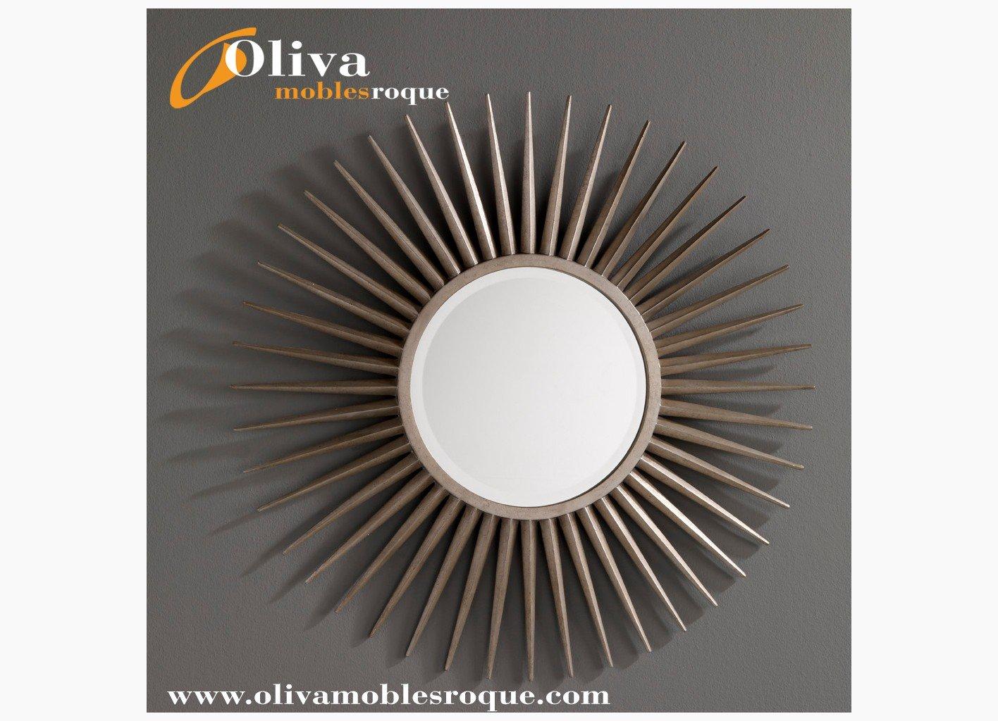 44 espejo sol plata espejos venta de espejos online for Espejo ovalado plata
