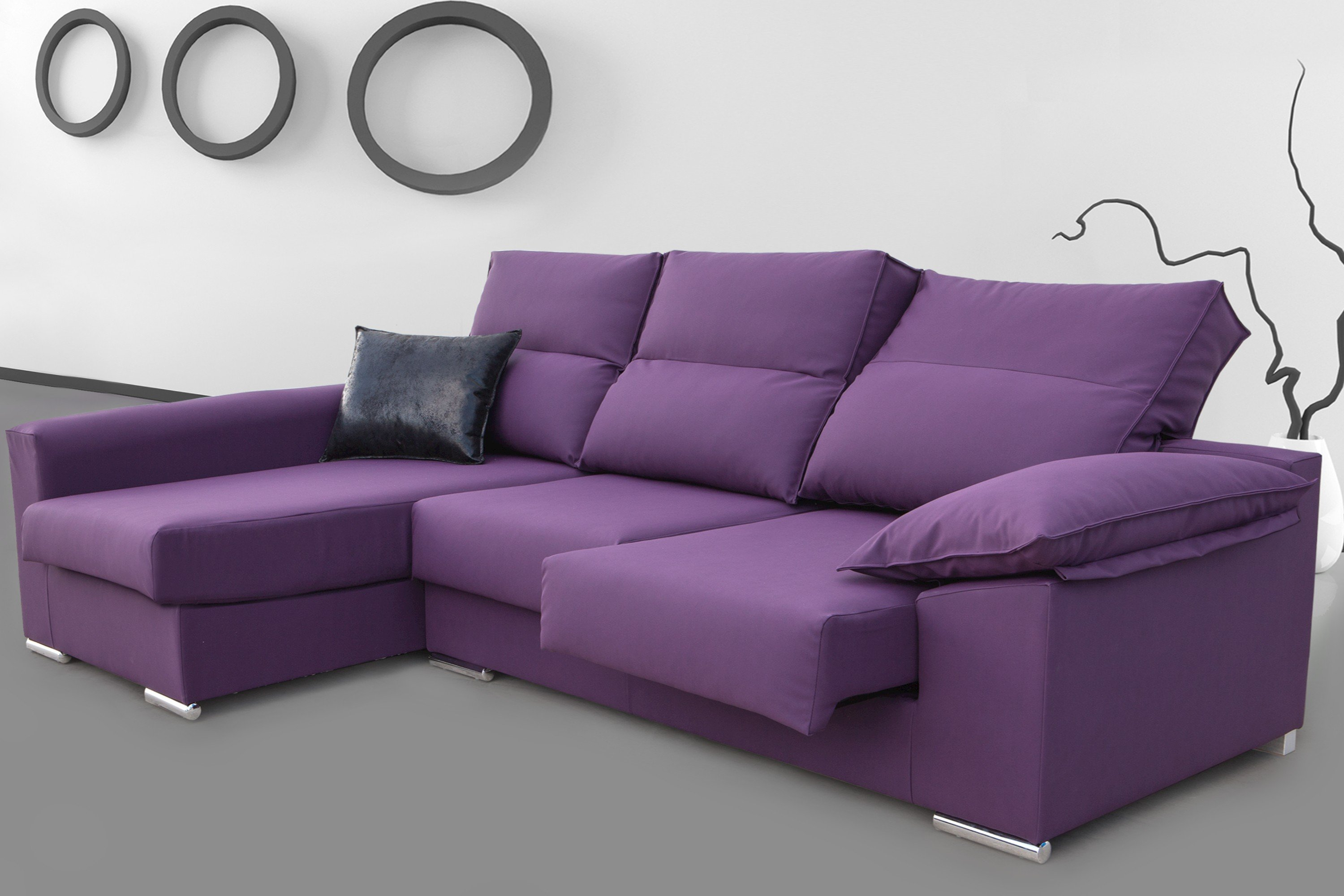 Sof s kal 01 sofas chaise longue sofas cama sillones for Sillones chaise longue