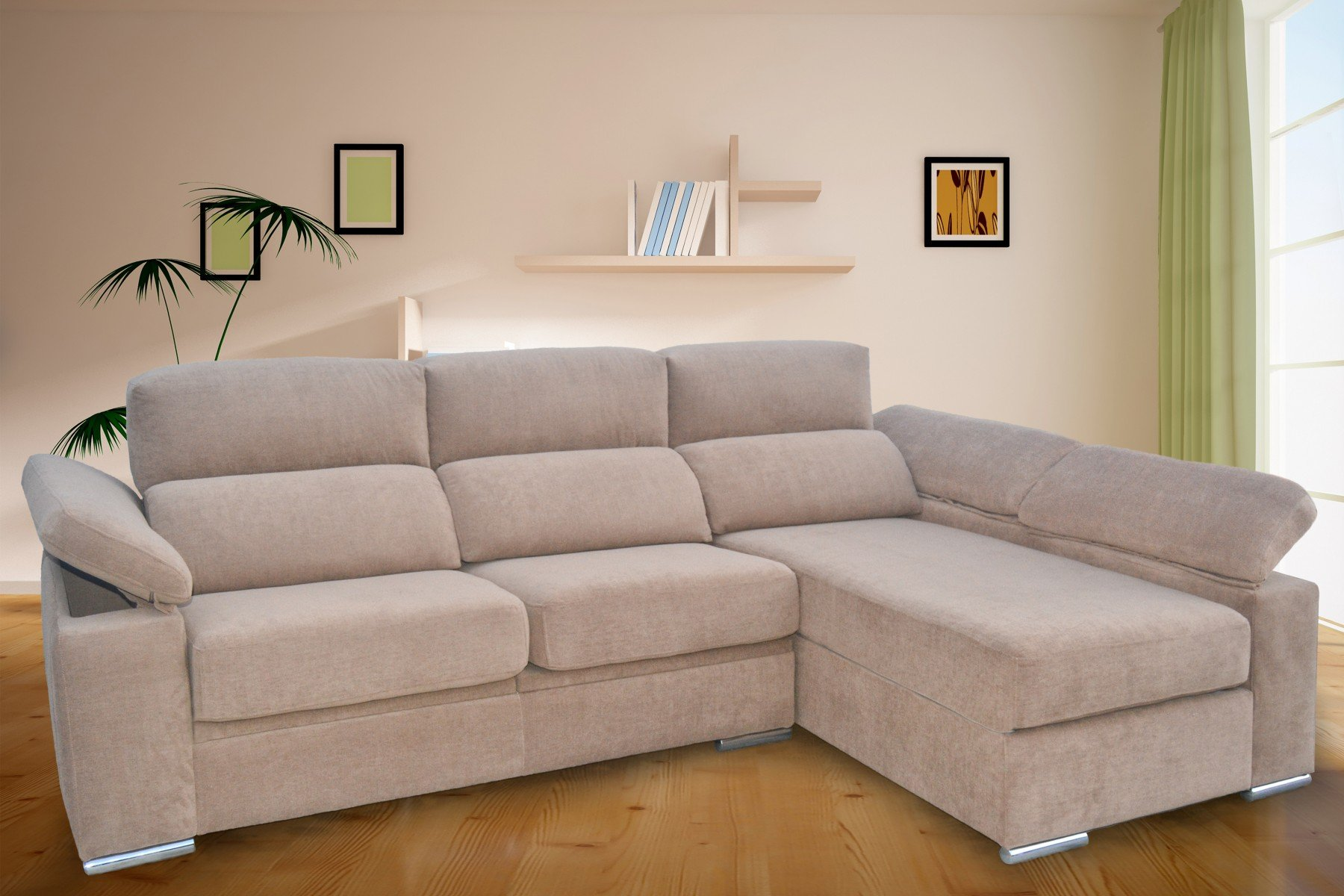 Sof s kal 03 sofas chaise longue sofas cama sillones for Sofas reclinables baratos