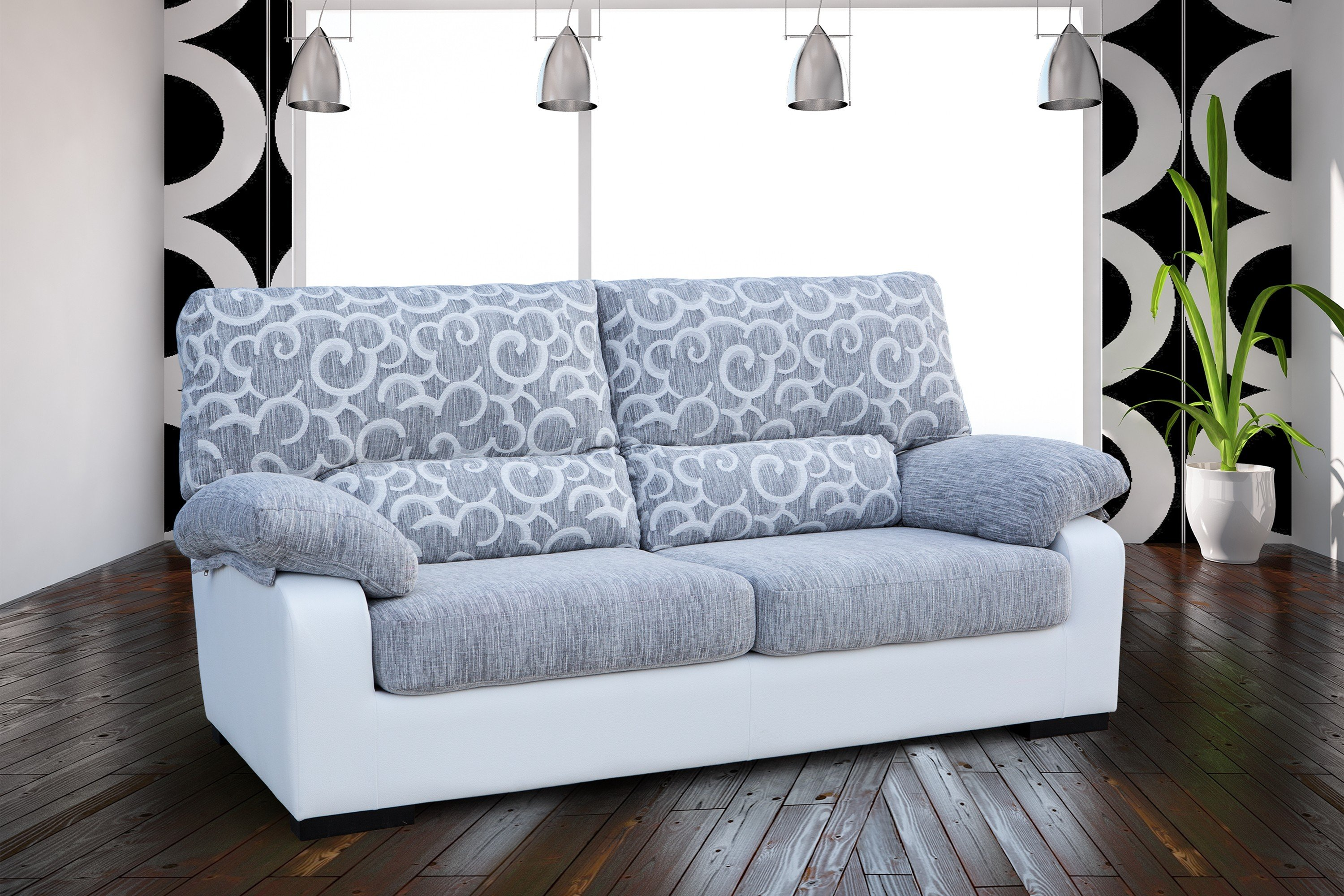 Sof s kal 04 sofas chaise longue sofas cama sillones for Sillones chaise longue